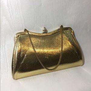 Gold Vintage Clutch